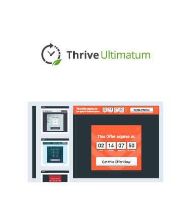 thrive ultimatum tạo countdown timer landing page